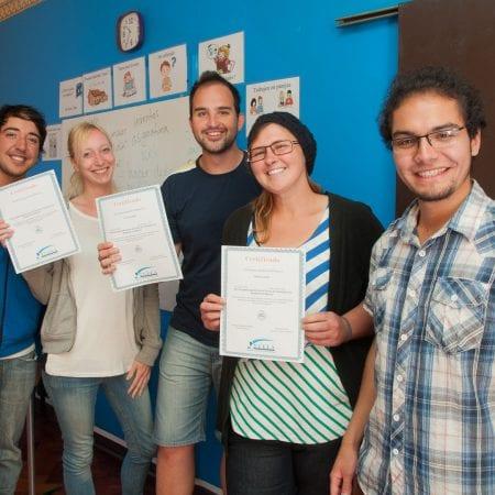 Sprachschüler in Viña del Mar