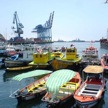 Hafen von Valparaíso