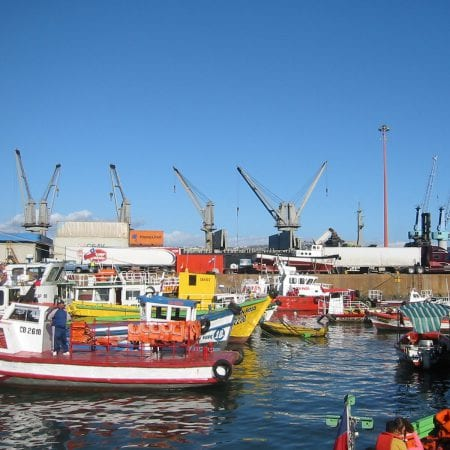 Hafen Valparaíso