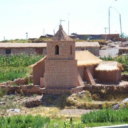 Kirche im Altiplano