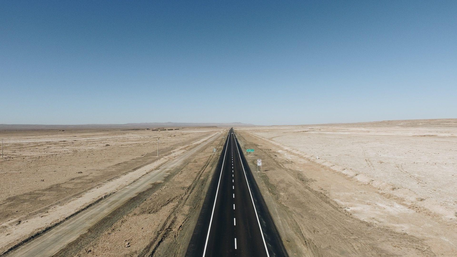 Straße Chile