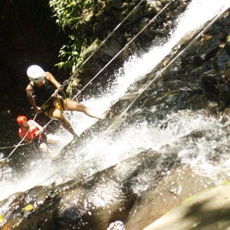 Canyoning Chile