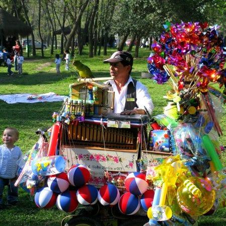Orgelspieler Santiago