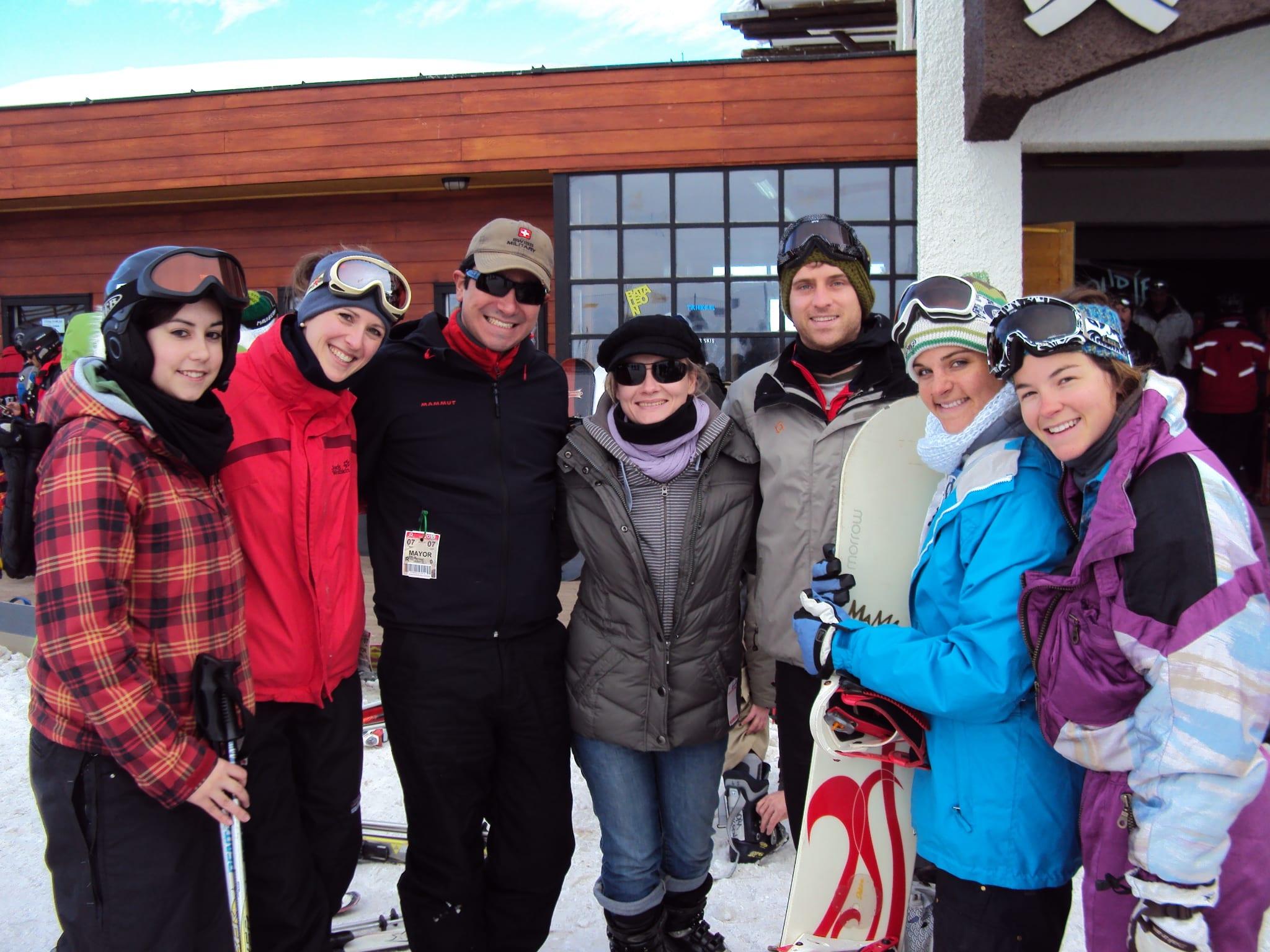 Skifahren Chile