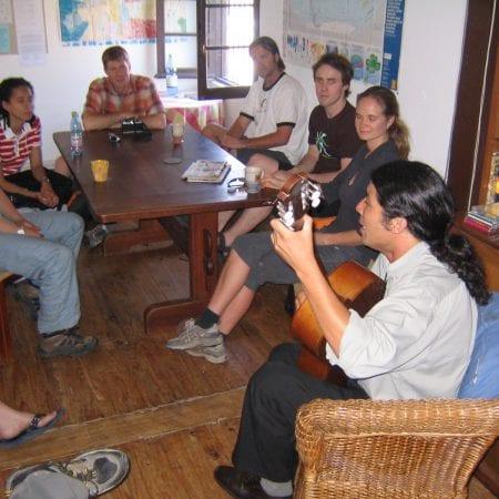 Reisen und Spanisch lernen