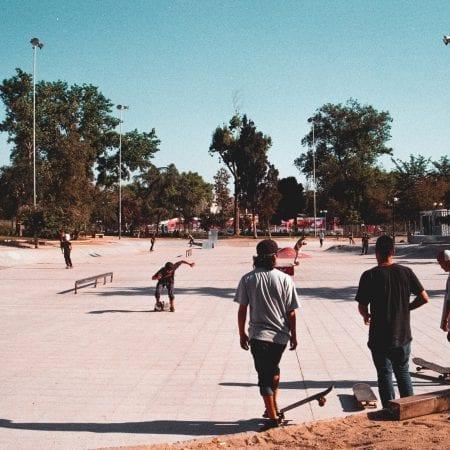 Skateboarder Santiago de Chile