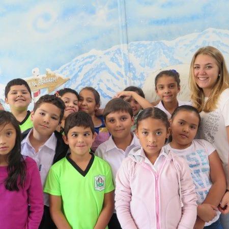 Freiwilligenarbeit mit Kindern